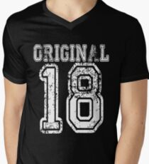 Original 18 2018 1918 T-shirt Birthday Gift Age Year Old Boy Girl Cute Funny Man Woman Jersey Style T-Shirt