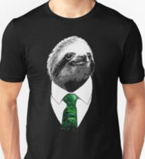 Sloth Like a Boss - Mr. Sloth T-Shirt