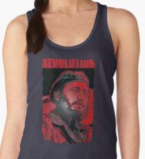 Fidel Castro revolt  Women's Tank Top