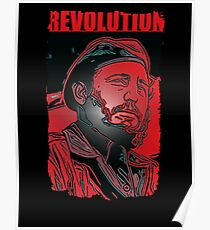 Fidel Castro revolt  Poster