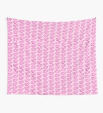 Pink lipstick Wall Tapestry