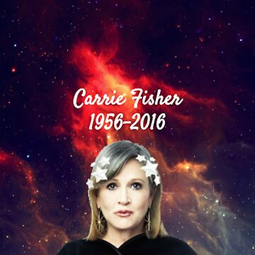 Carrie Fisher by bunnyboo7612