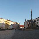 Olomouc Lower Square by Elena Skvortsova