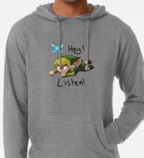 Link & Navi - The Legend Of Zelda Lightweight Hoodie