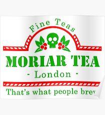 MoriarTea Christmas Poster