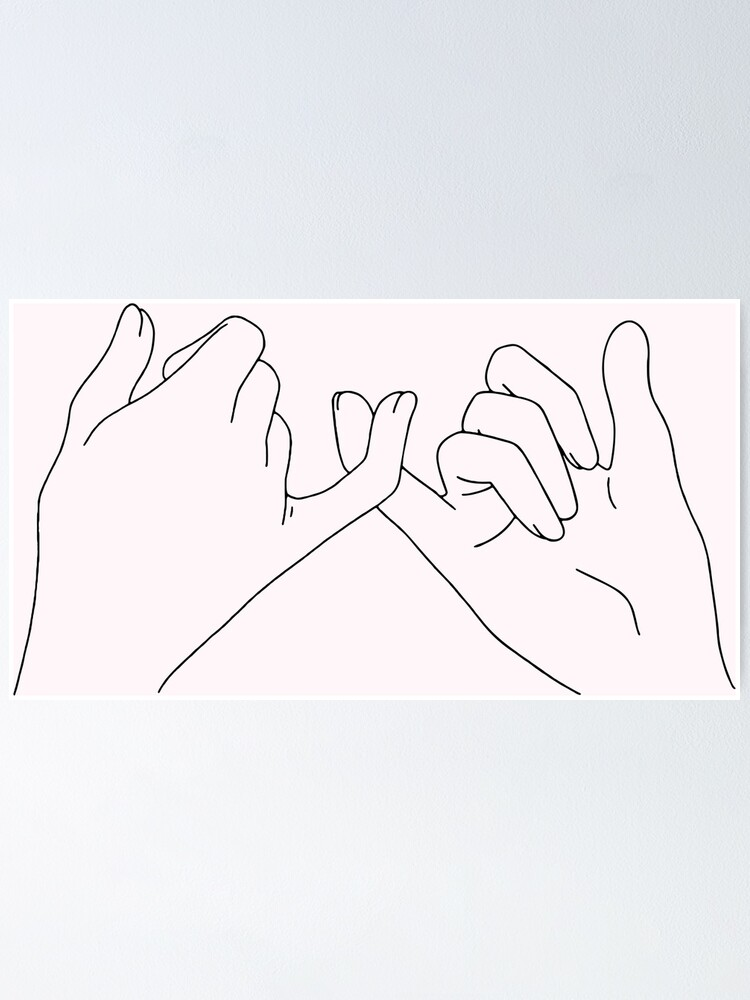 Alternate view of pinky promise Poster