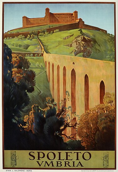 spoleto posters Vintage