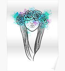 Elegant Mask - Light Background Poster