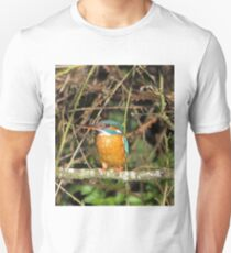 Female Kingfisher  Unisex T-Shirt