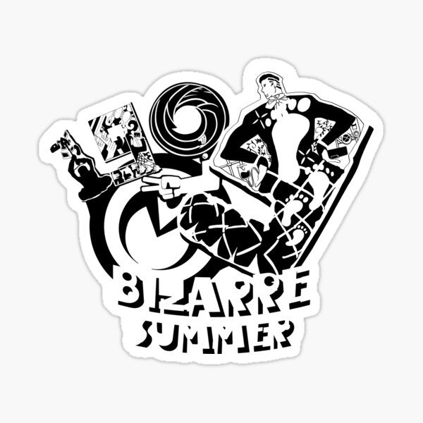 1999 Bizarre Summer Sticker