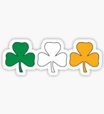 Ireland Shamrock Flag Sticker