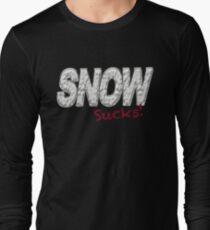 SNOW SUCKS - Snow Hater  T-Shirt