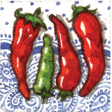 Cute Chillies by JacquiTaylor