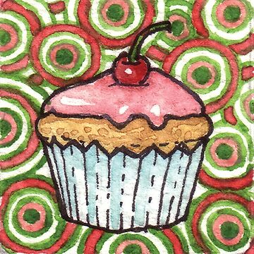 Cute Cupcake by JacquiTaylor