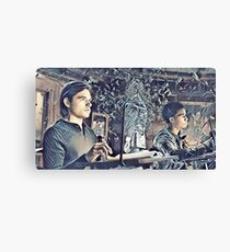 Quentin and the Beast Canvas Print