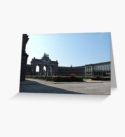 Parc du Cinquantenaire: Brussels Greeting Card