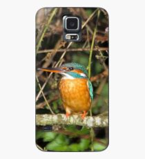 Female Kingfisher  Case/Skin for Samsung Galaxy