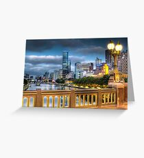 St. Kilda Rd Bridge - Melbourne Greeting Card