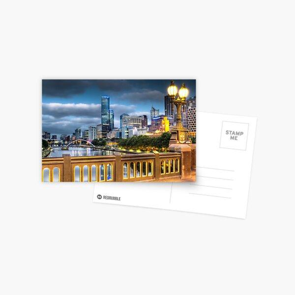 St. Kilda Rd Bridge - Melbourne Postcard