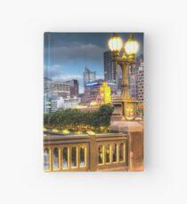 St. Kilda Rd Bridge - Melbourne Hardcover Journal