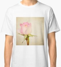 Single Baby Pink Rose Classic T-Shirt