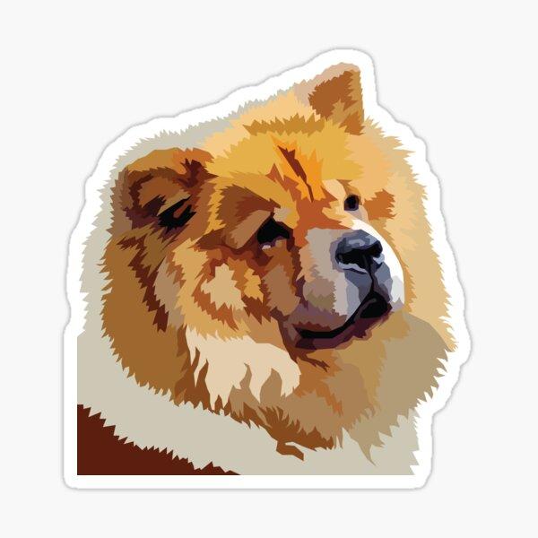 Chow Dog Sticker