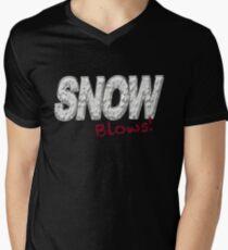 SNOW BLOWS - Snow Hater  Men's V-Neck T-Shirt