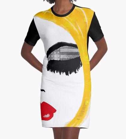 American Girl Graphic T-Shirt Dress