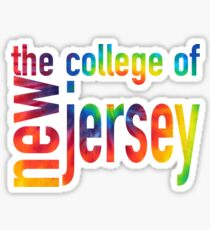 The College of New Jersey Sticker