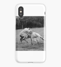 Warring Wolfhounds iPhone Case/Skin