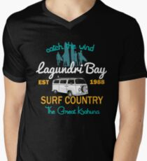 Catch The Wind Lagundri Bay Indonesia Surfing T-Shirt
