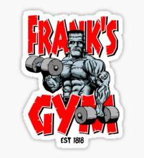 Frank's Gym Sticker