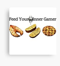 Feed your Inner Gamer Canvas Print