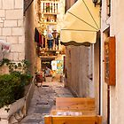 A Street in Trogir by Rae Tucker