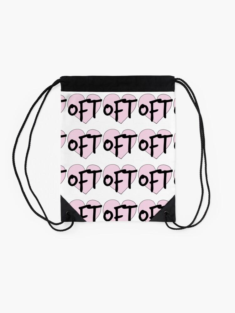Alternate view of Only Fun Things Logo Drawstring Bag
