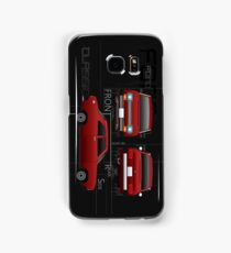 Classic Ford Escort Mk1 Gift - Phone / Tablet Cases (Dark) Samsung Galaxy Case/Skin