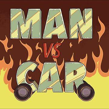 Man vs Car by OleStumpy