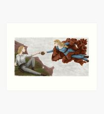 Creation of Dolores Art Print