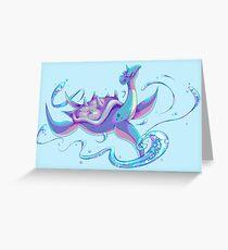 Lapras Greeting Card
