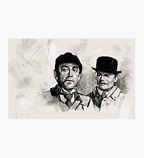 Livanov and Solomin Photographic Print