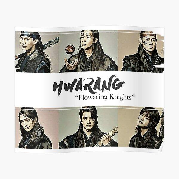 "Hwarang - ""Flowering Knights"" Digital Paint Poster"