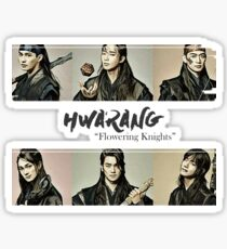 """Hwarang - """"Flowering Knights"""" Design Sticker"""