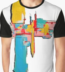 Colourful graphic abstract art Graphic T-Shirt