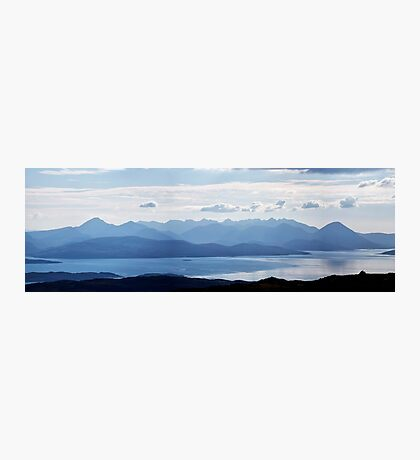 Isle of Skye Panorama Photographic Print