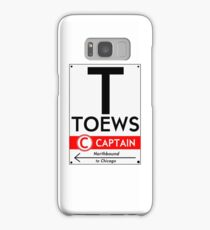 Retro CTA sign Toews Samsung Galaxy Case/Skin