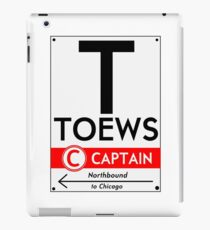 Retro CTA sign Toews iPad Case/Skin