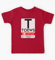 Retro CTA sign Toews Kids Tee