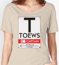 Retro CTA sign Toews Women's Relaxed Fit T-Shirt