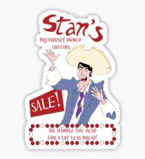 Monkey Island - Stan's coffins Sticker