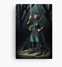 Elven Mage Thief Canvas Print